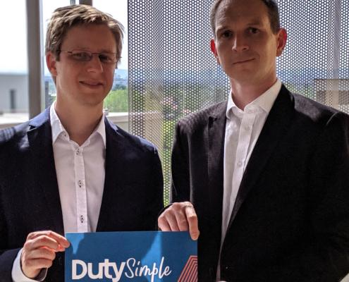 Die Gründer von DutySimple