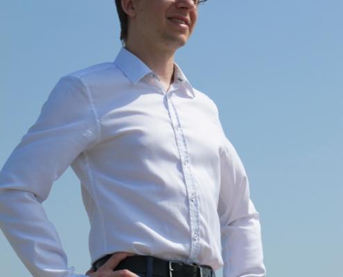 Portrait von Helmut Niessner, Co-Gründer von DutySimple